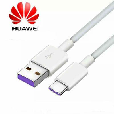 Original Huawei Cable USB-C Carga Rapida Datos Mate 9 10Pro P10 P20...