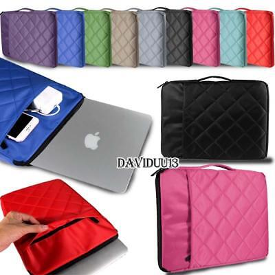 """Carrying Bag Sleeve Case For 11.6"""" 12"""" 13.3"""" 15.4"""" Apple Mac"""