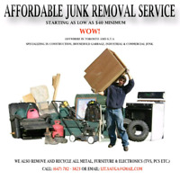 Cheapest price in town Mississauga junk removal from only $20