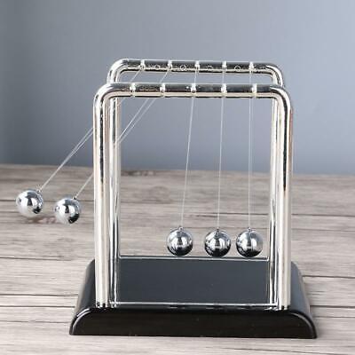 Newtons Cradle Balance Steel Ball Physics Science Pendulum Desk Decor Gift Toy