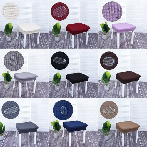 Waterproof Stretch Kitchen Dining Chair Seat Cover Protector