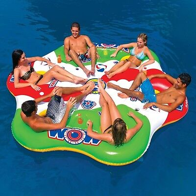 Tube A Rama 6P tube inflatable towable lounge water-ski WOW