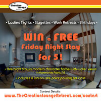 WIN the Ultimate LADIES NIGHT for 5!  ($495. Value)