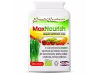 MaxNourish 100% Organic