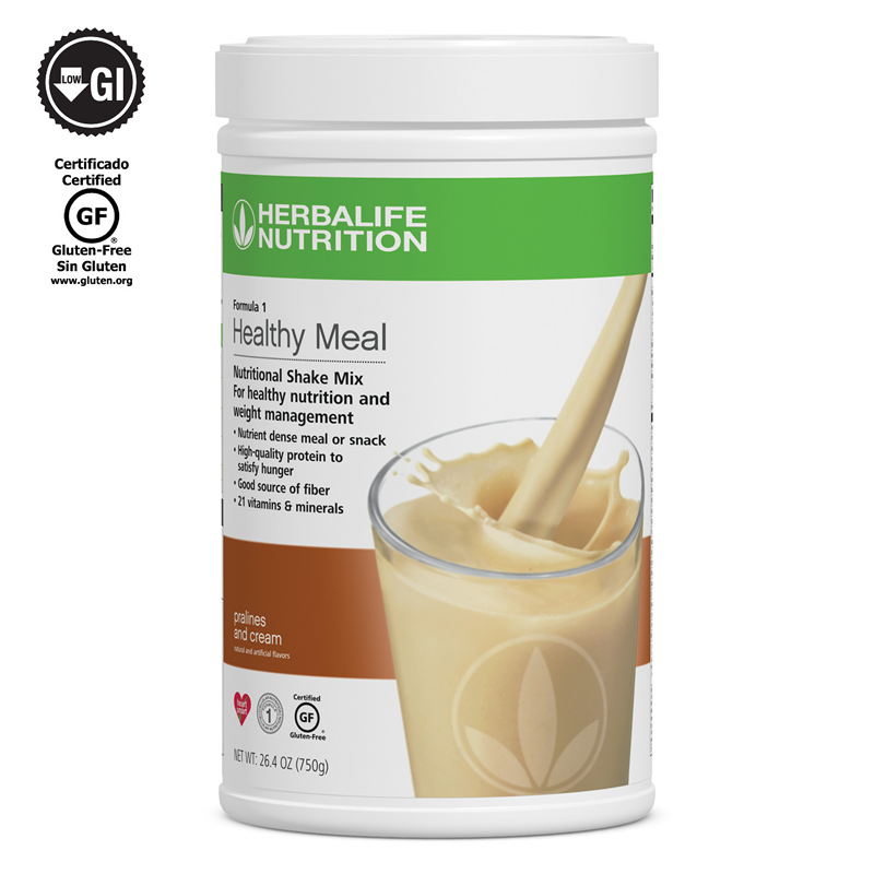 NEW 2X HERBALIFE FORMULA 1 HEALTHY MEAL SHAKE MIX (ALL FLAVORS AVALIABLE) 1