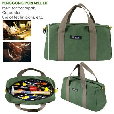 Portable 16 inch Oxford Cloth Tool Bag Thick Electrician Bag Outdoor Repair Kit