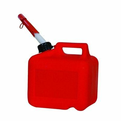 Midwest 2300 2 Gallon 6 Ounce Plastic Red Gas Can