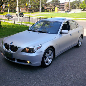 2006 BMW 525i SEXY MATTE SILVER PAINT!