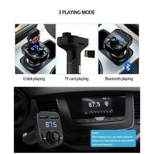 Transmetteur FM Pour auto / Cellulaire Main Libre Lecteur MP3