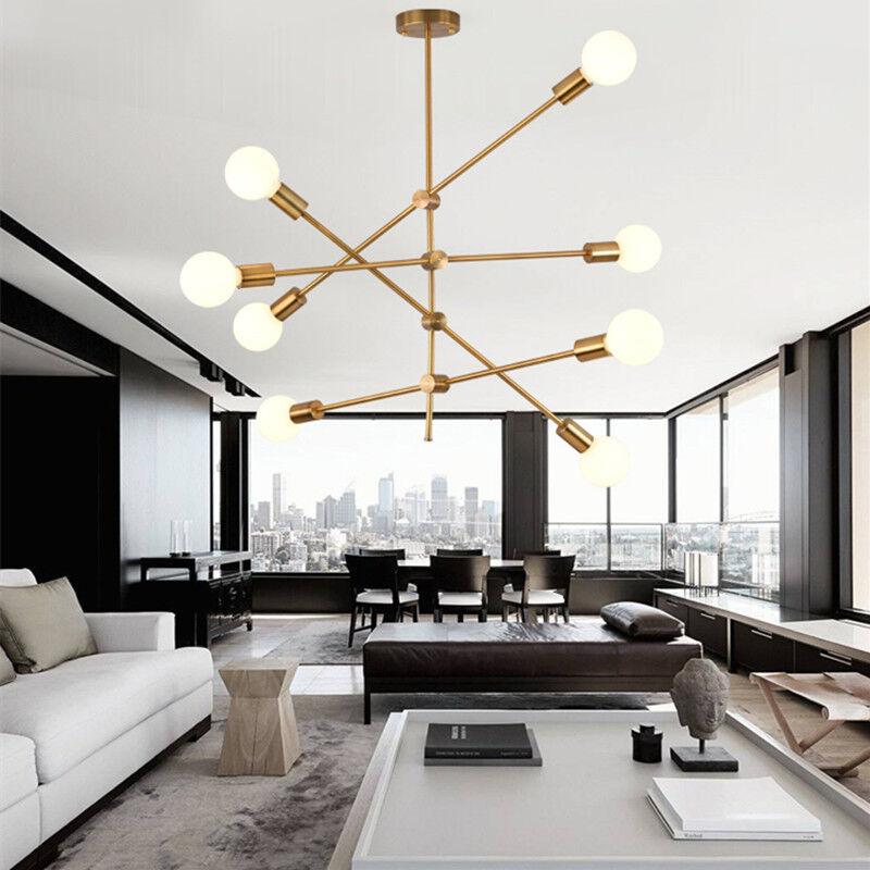 Kitchen Pendant Light Bar Ceiling Lights Home Gold Lamp Bedroom