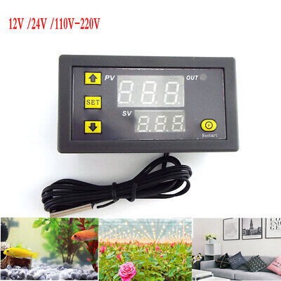 Dc1224v Ac110220v Digital Thermostat Control Switch Temperature Controller Led