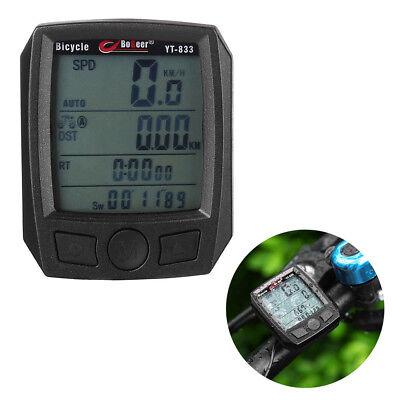 Fahrradcomputer Tachometer  Fahrradtacho Kilometerzähler LCD Wasserdicht online kaufen