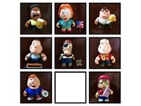 Collectable Family Guy Kidrobot figures