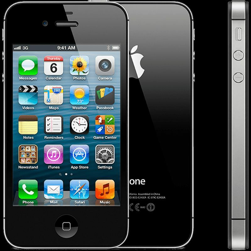 NEW SEALED BOX IPHONE 4S UNLOCK 16GB SMARTPHONE UNLOCKED (WHITE/BLACK)