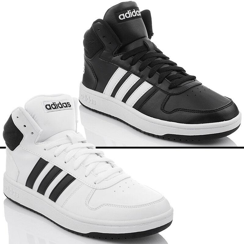 Details zu ADIDAS HOOPS 2.0 MID Herrenschuhe turnschuhe Sneaker Winterschuhe BB7207 BB7208