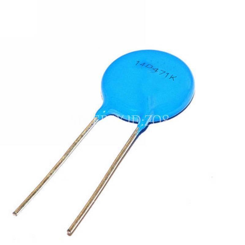 10PCS 14D471K 470V ±10% Varistor Resistor Voltage Dependent Resistor VDR