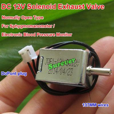 Dc 12V Mini Eléctrico Electroválvula Normalmente Abierto Tipo N/O Tensiómetro L