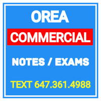 NEW LATEST OREA EXAMS & NOTES FOR COURSE 1 2 3 4 5 APPRAISAL