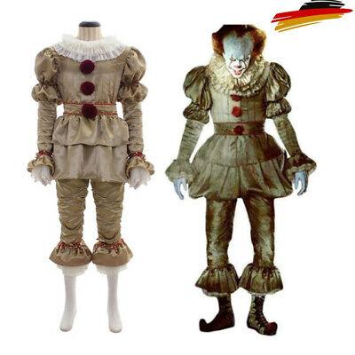 NECA Pennywise Das Clown Festgeleg Outfits Stephen King Cosplay Karneval Kostüm.