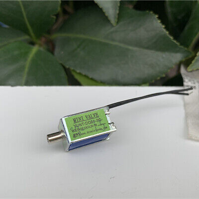 Dc 3.3v Small Mini Dc Electric Solenoid Valve Air Gas Exhaust Flow Control Valve