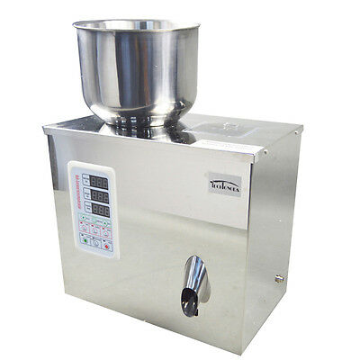 110V 20g Granular and Powder Filler Salt Filling Machine Weigh Food Pill Cell