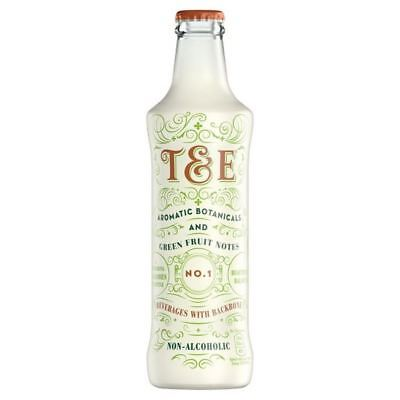 4x T&E Aromatic Botanicals & Green Fruit Notes Non-Alcoholic Drink 275ml