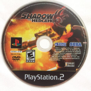 SONIC Shadow the Hedgehog JEU VIDEO POUR PlayStation 2