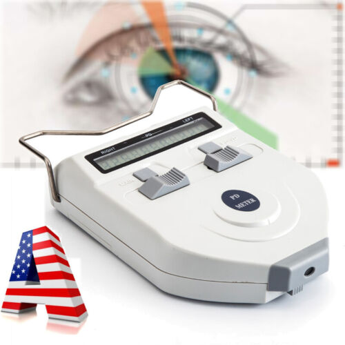 FDA Eye Optometry Machine Digital LCD Optical Pupilometer PD Pupil Meter System