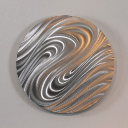abstract silver metal wall art home decor