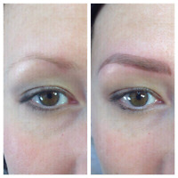 Gorgeous eyebrows! Micro blading!! For natural good looking