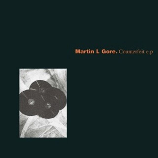 MARTIN L. GORE - COUNTERFEIT EP  (CD)  6 TRACKS  INTERNATIONAL POP  NEU