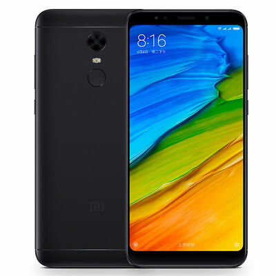 "Xiaomi-Redmi-5-Plus BLACK 64GB (FACTORY UNLOCKED) 5.99"" 4GB RAM SMARTPHONE"
