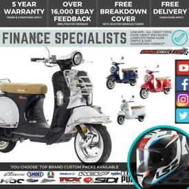 Lexmoto Milano 125 EFi 125cc **FINANCE AND UK & IRELAND DELIVERY!**