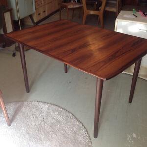 Danish teak teck rosewood table