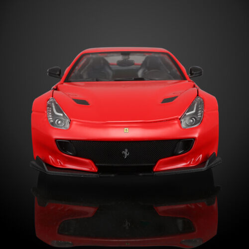 1/24 Scale Red Ferrari F12tdf Car Diecast Model Toy Vehicles