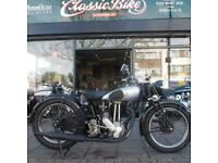 1936 Norton Model 55 Fitted With 1952 ES2 500 Classic Vintage, Very Reliable.