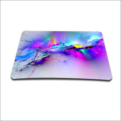 Galaxy Small Mouse Pad Office Mat Laptop Computer Pc Gaming Mousepad Rests Soft