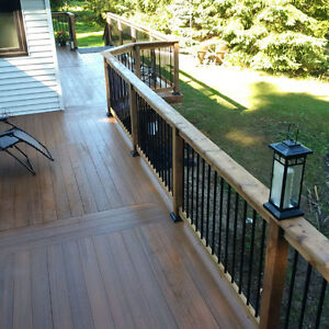 Deck and Wood Features - Free Quotes - One Stop Home Solutions Kawartha Lakes Peterborough Area image 1