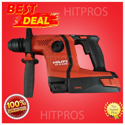 Hilti Te 6-a36 Hammer Drill Brand New Complete Set Fast Shipping