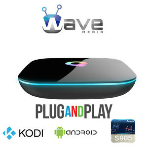 WAVE MEDIA® Q-BOX ANDROID TV BOX★UNLIMITED MOVIES★TV SHOWS★FREE