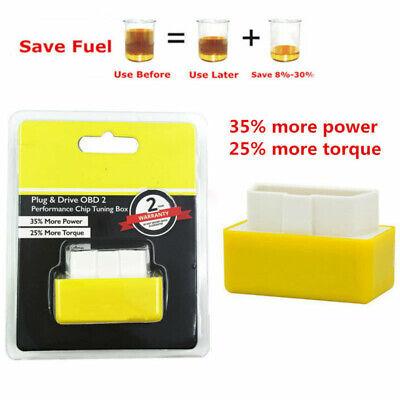 Eco OBD2 Universal Economy Fuel Saver Tuning Box Chip For Petrol -