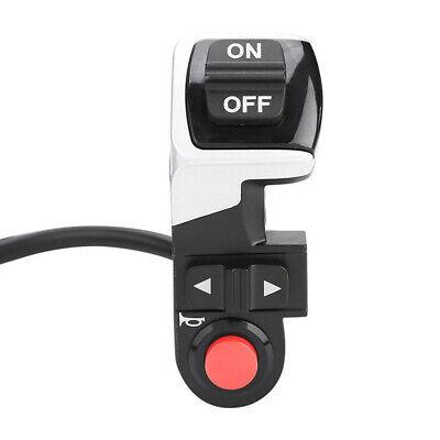 Interruptor for Bicicleta Eléctrica Luz Delantera/ Cuerno/ Torno Negro Práctico