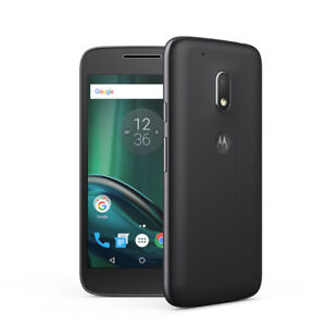 New, unlocked Moto G4 Play 16GB, 8GB Cam, MicroSD slot