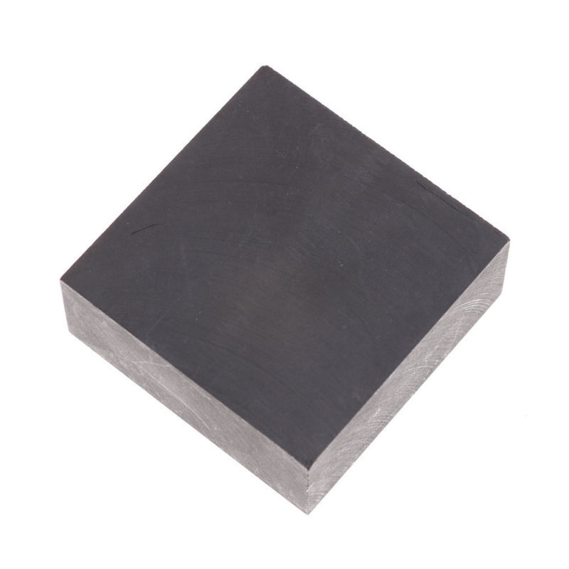 50*50*20mm High Purity Density Fine Grain Square Blank Graphite Block Plate B