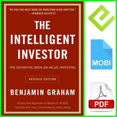 The Intelligent Investor (PDF/Epub/MOBI Version) Instant Delivery