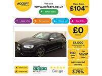 Audi S3 FROM £104 PER WEEK!