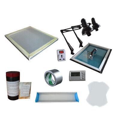 Screen Printing Exposure Uint Screen Diy Plate Kit Coater Materials Supply