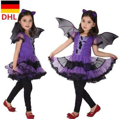 kostüm Vampir Horror Cosplay für Halloween Karneval Party DE (Vampir-mädchen Kostüme Kinder)