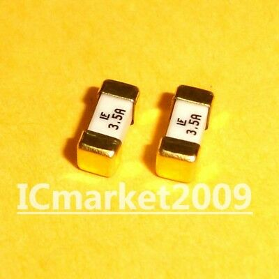 10 Pcs 3.5a 1808 Littelfuse Fast Acting Smd Fuse 1.5 Ampere Surface Mount Fuses