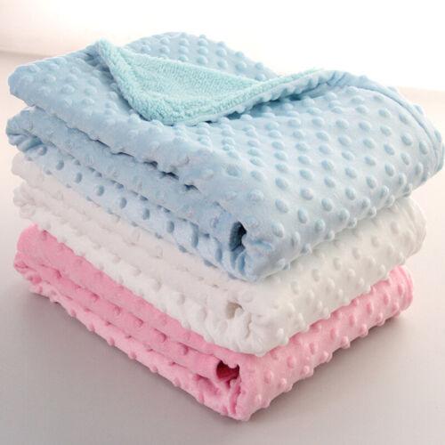 Newborn Baby Blanket & Swaddling Newborn Thermal Soft Fleece